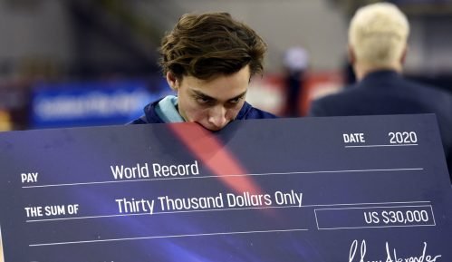 Novi svetski rekord Duplantisa u skoku s motkom 6