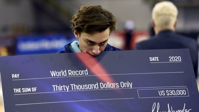 Novi svetski rekord Duplantisa u skoku s motkom 2