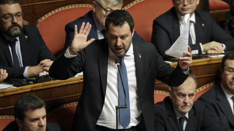 Senat ukinuo imunitet Salviniju 1