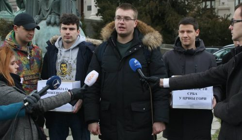 Studenti Pravnog fakulteta u Beogradu predali potpise za rezoluciju o ugroženosti Srba u Crnoj Gori 6