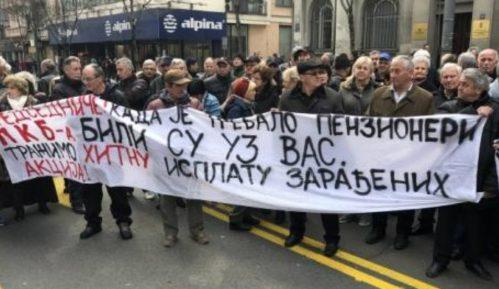 Radnici PKB blokirali saobraćaj u Beogradu, traže nadoknadu za akcije u Predsedništvu Srbije 12