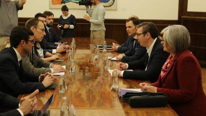 Vučić sa Misijom MMF-a o makroekonomskim kretanjima i reformama u Srbiji 2