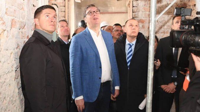 Vučić: Infektivna klinika važna za celu Srbiju, uložićemo pet miliona evra u rekonstrukciju 10