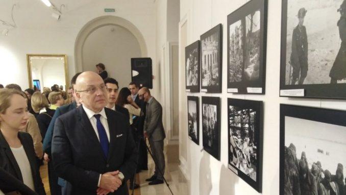 """Otvorena izložba """"Rat kroz objektiv 1941-1945"""" u Ruskom domu 1"""