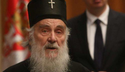 Patrijarh Irinej za liturgiju sa petoro lica 1