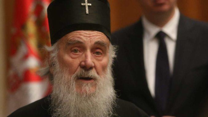 Patrijarh Irinej za liturgiju sa petoro lica 2