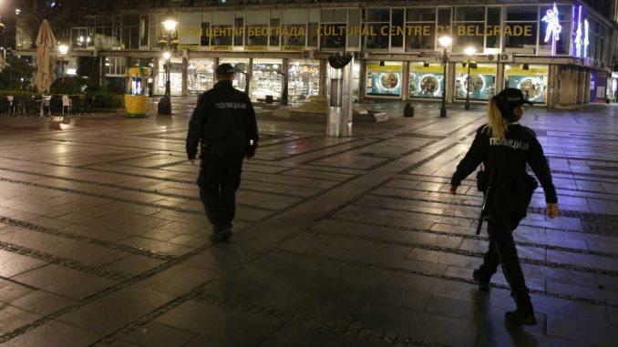 Kako je u Beogradu izgledala prva noć policijskog časa? 2