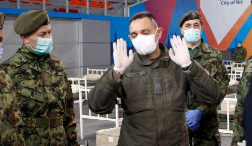 "Vulin: Za šest dana nova bolnica u krugu VMC ""Karaburma"" 9"