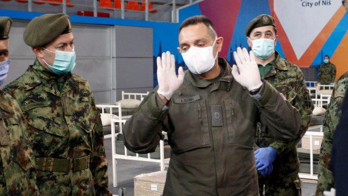 Vulin: Angažovani rezervisti koji su civilno služili vojni rok u zdravstvenim ustanovama 3