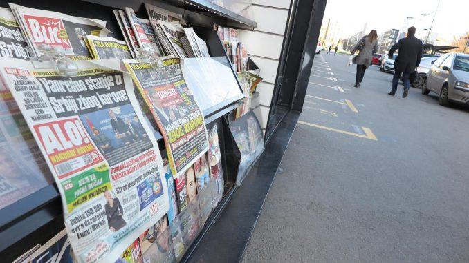 Informer, Blic, Kurir i Alo prepisali Danas 8