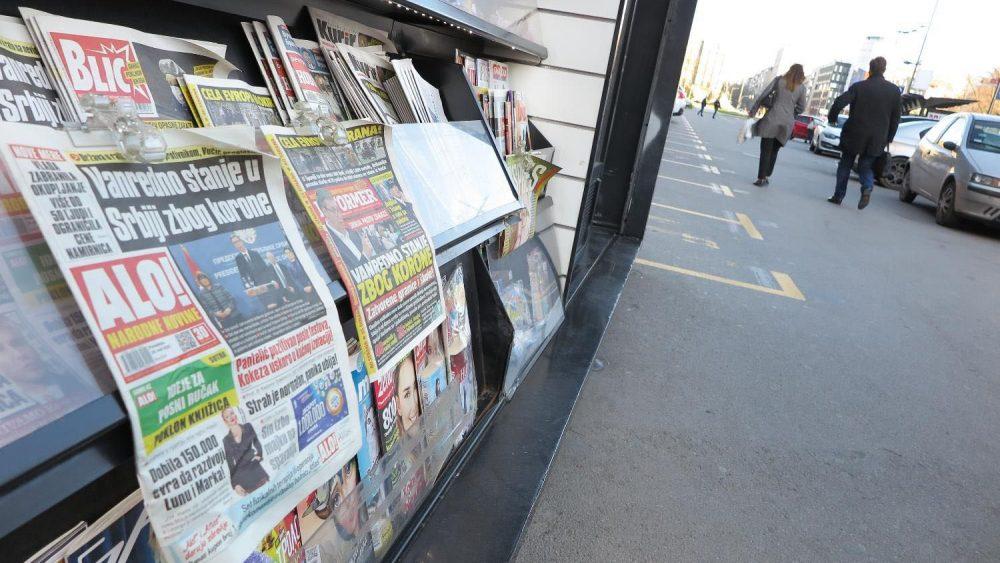 UNS: Međunarodna udruženja traže od Vlade da obezbedi slobodu informacija 1
