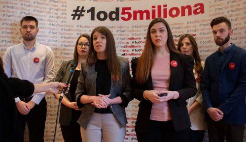 Pokret 1 od 5 miliona pozvao opoziciju u bojkotu da kontroliše izbore 11