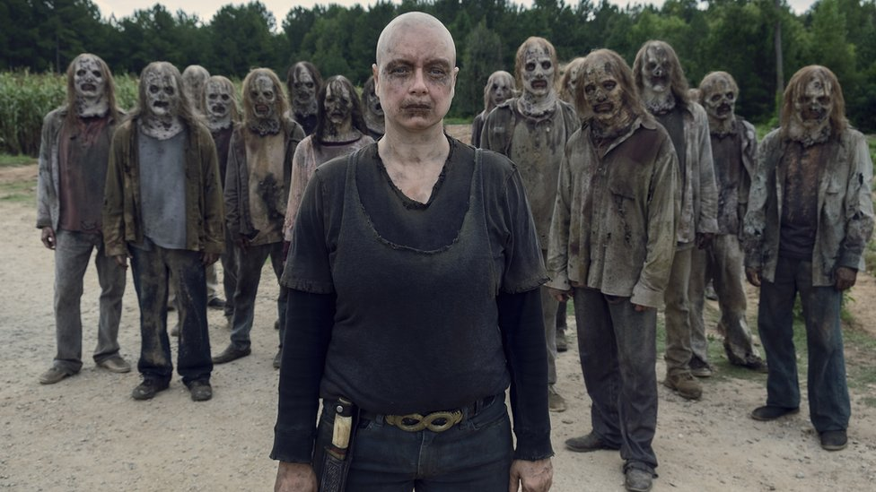 Samantha Morton as Alpha inThe Walking Dead with The Whisperers