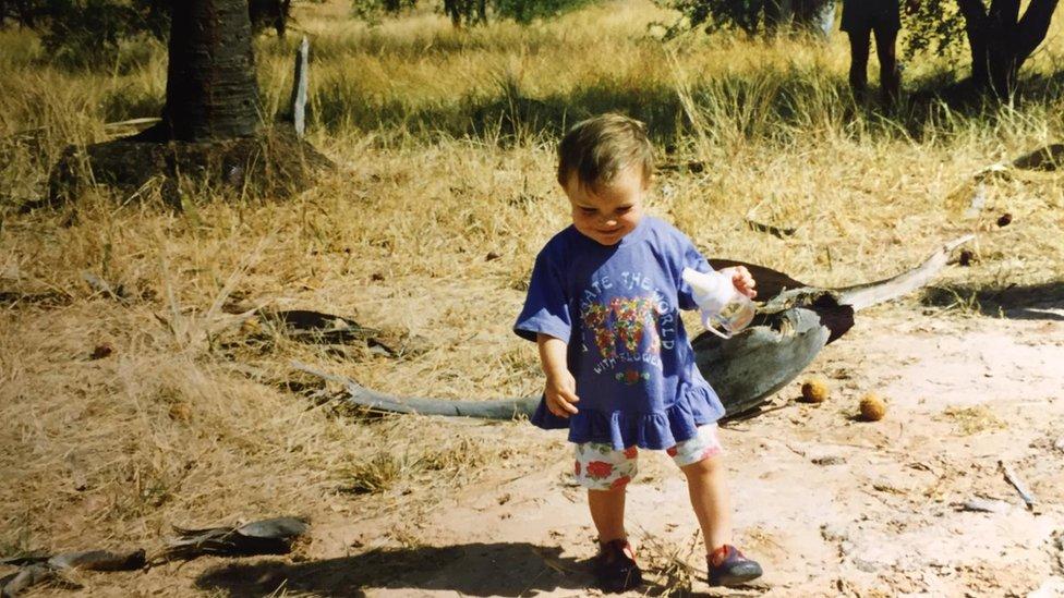 Ema je kao veoma mala umela da navede sve životinje iz afričke divljine