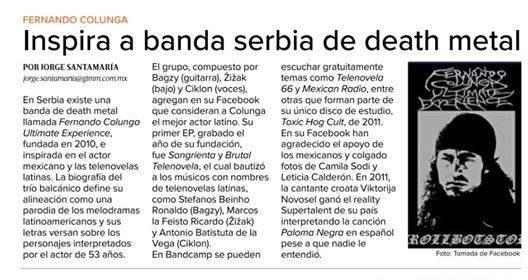 Srbija, hevi metal i Fernando Kolunga: Požarevački bend poznatiji u Meksiku nego kod kuće 4