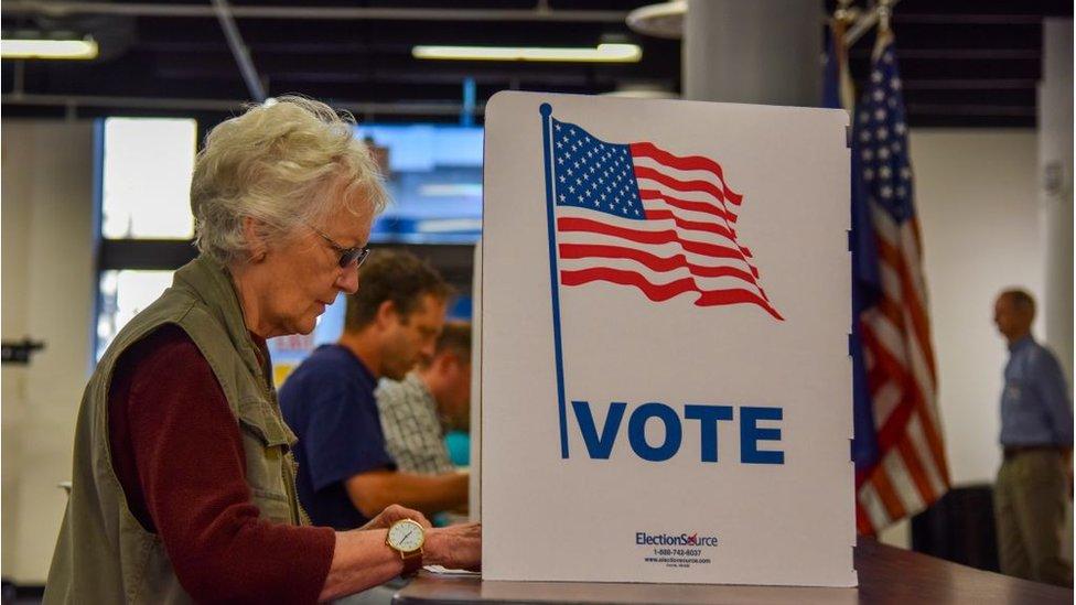 Detalj sa glasanja u Virdžiniji