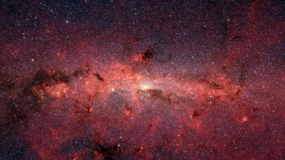 NASA photo of the Milky Way core