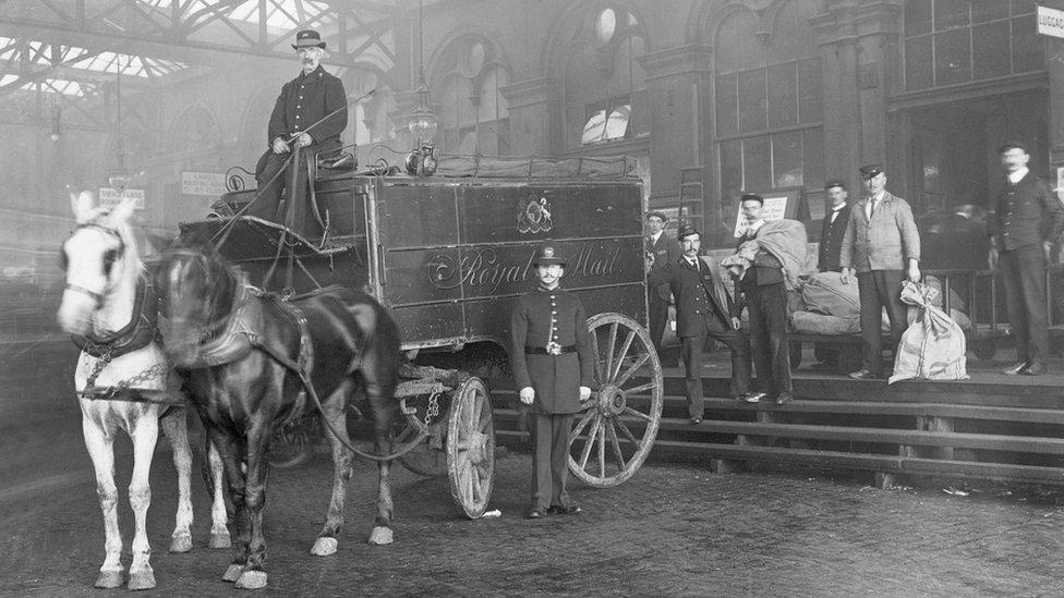 Isporuka pošte kočijama