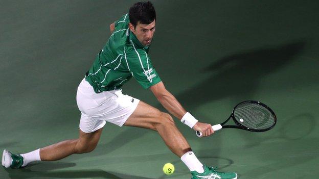 Đoković na nedavno održanom turniru u Dubaiju