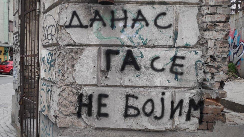 Grafit u centru Beograda