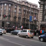 Penzioneri i bivši radnici PKB blokiraju centar Beograda od 13 sati 13