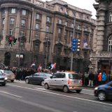 Penzioneri i bivši radnici PKB blokiraju centar Beograda od 13 sati 5