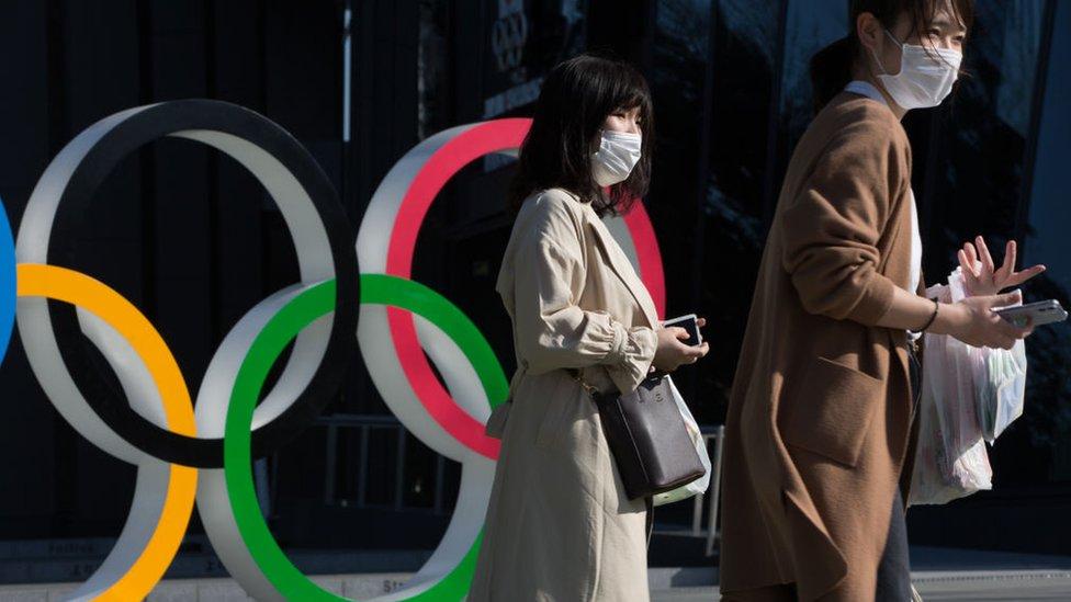 olimpijske igre znak korona