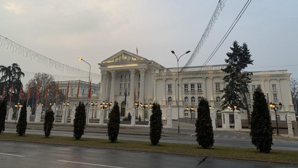 Skoplje, februar 2020.