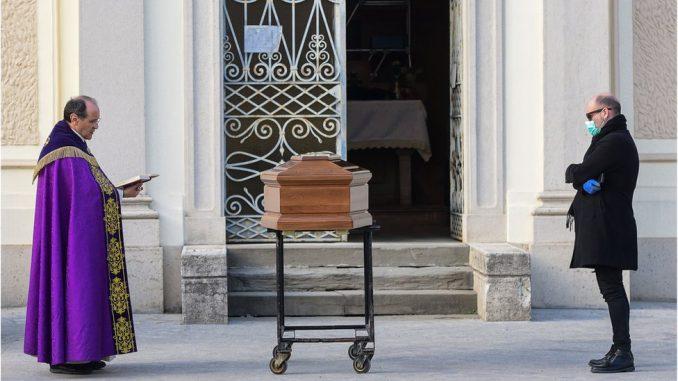 Korona virus: Kako Kovid-19 uskraćuje dostojanstvo mrtvima u Italiji 2