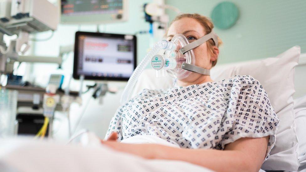 Pacijentkinja u bolnici