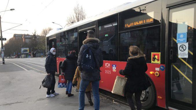 Kako funkcioniše gradski prevoz u Beogradu tokom vanrednog stanja? 2