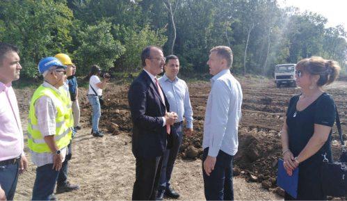 Radovi u budućem Savaparku u Šapcu se nastavljaju 15