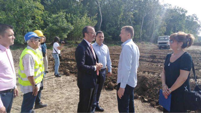 Radovi u budućem Savaparku u Šapcu se nastavljaju 3