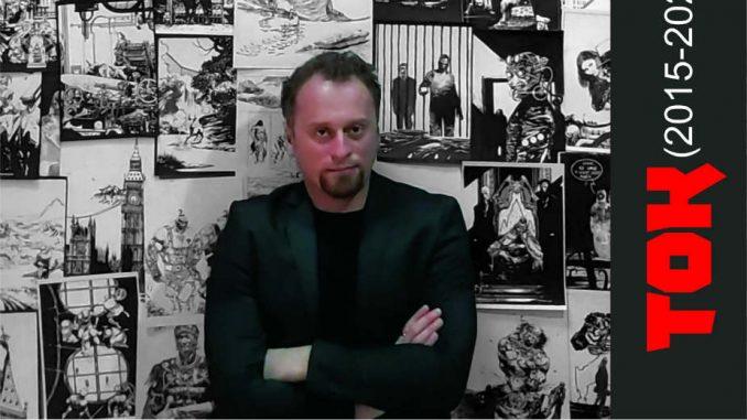 Treća samostalna izložba strip crtača Stevana Subića 3