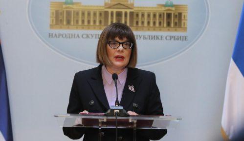DJB će podneti krivičnu prijavu protiv Maje Gojković i šefa pisarnice Skupštine Srbije 3