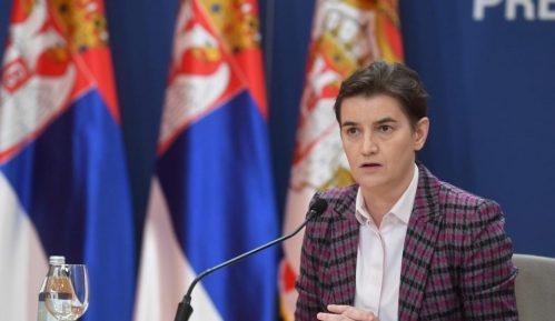 Brnabić: Ukoliko roba iz centralne Srbije bude ulazila na Kosovo steći će se uslovi za nastavak dijaloga 1
