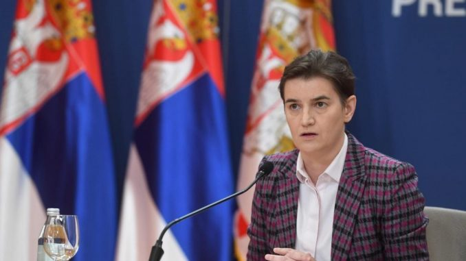 Brnabić: Ukoliko roba iz centralne Srbije bude ulazila na Kosovo steći će se uslovi za nastavak dijaloga 4