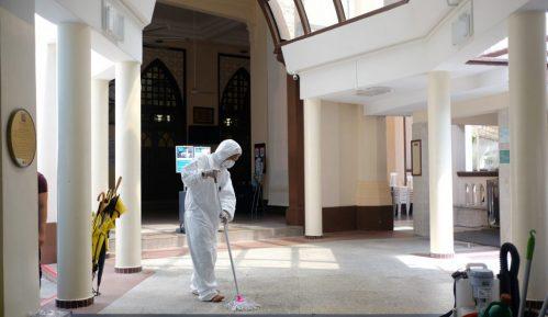 Singapur: Pas robot proverava fizičku distancu 4