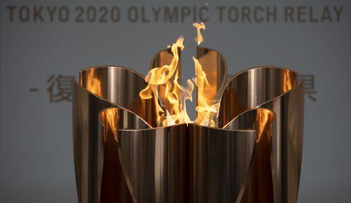 Olimpijski plamen povučen iz javnosti u Japanu 1