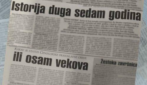 Dva viđenja sticanja pravnog statusa Crnogorske crkve pre 20 godina 1