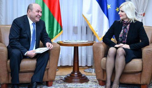 Mihajlovićeva sa ambasadorom Azerbejdžana o izgradnji autoputa 8