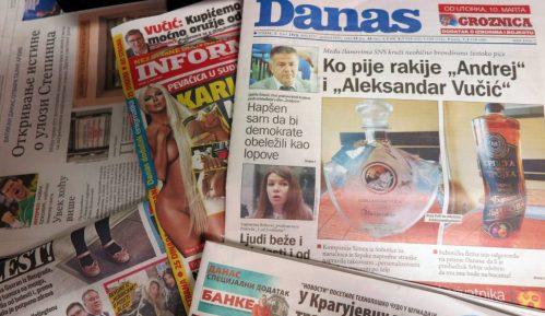 UNS: Vlada Srbije da usvoji mere za finansijski opstanak medija 2
