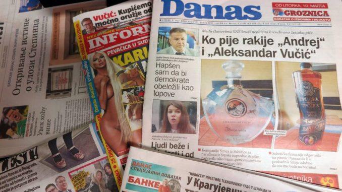 Lažna vest o zaraženim supružnicimanije objavljena u Danasu 1