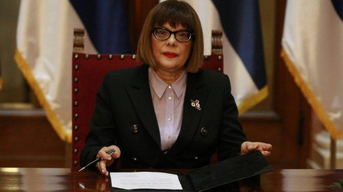 Predsednica Skupštine Srbije najavila izborne radnje i šta će SNS raditi tokom kampanje 4