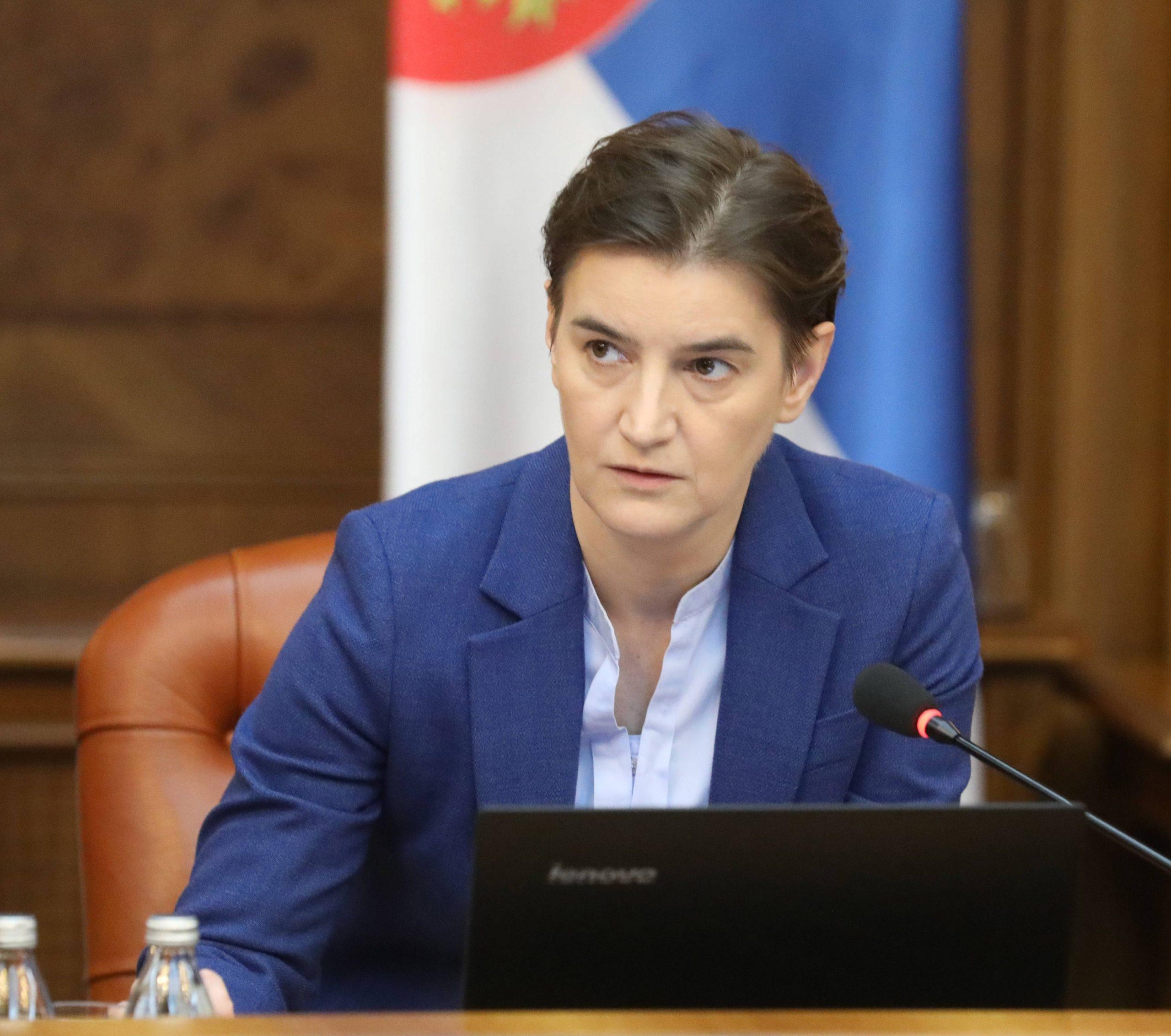 Brnabić: Vlada će danas povući zaključak o centralizovanju informacija 1