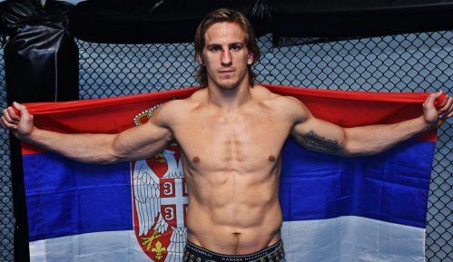 MMA borac Bojan Veličković u pripremi za takmičenje Vrbasu 6
