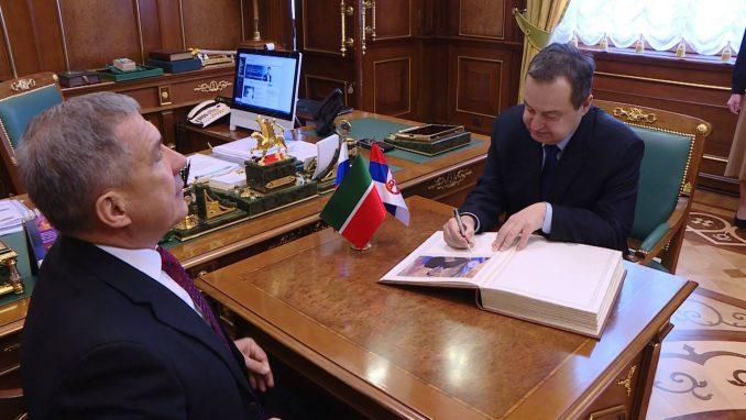 Dačić: Odnosi Srbije i Rusije izvanredni u svim sektorima 4