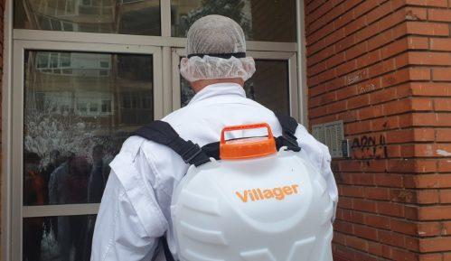Najozbiljnija dezinfekcija Zdravstvenog centra u Vranju od strane Ruskih ekipa 3