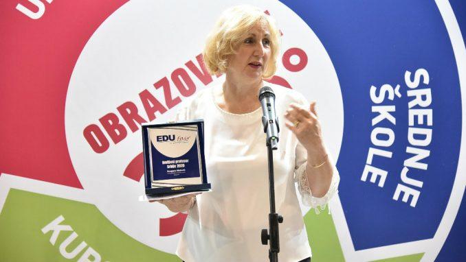 Dragana Matović omiljena profesorka u Srbiji 2
