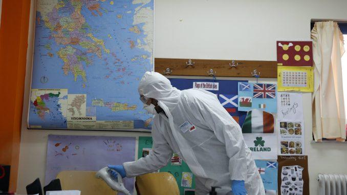 Grčka komisija za javno zdravlje o saopštenju Crkve: Virus se prenosi i pričešćem 1